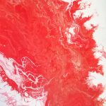 Acrylmalen und Acrylpouring im Alpenhof Obsteig