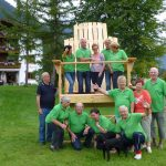 Wohlfühlstuhl Alpenhof Obsteig Sonnenplateau Mieming