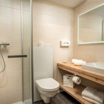 Wohlfühlpension Alpenhof Obsteig Suite Bad