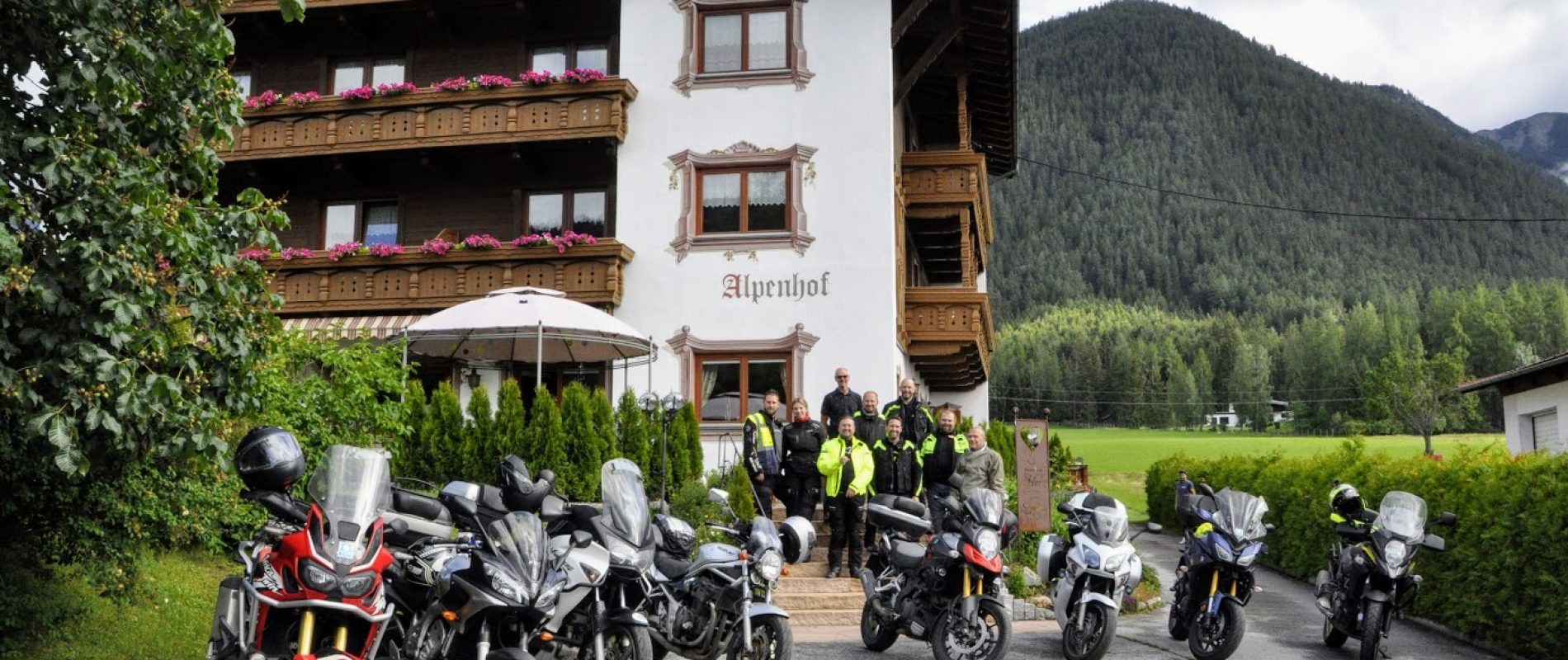 Motorrad tour