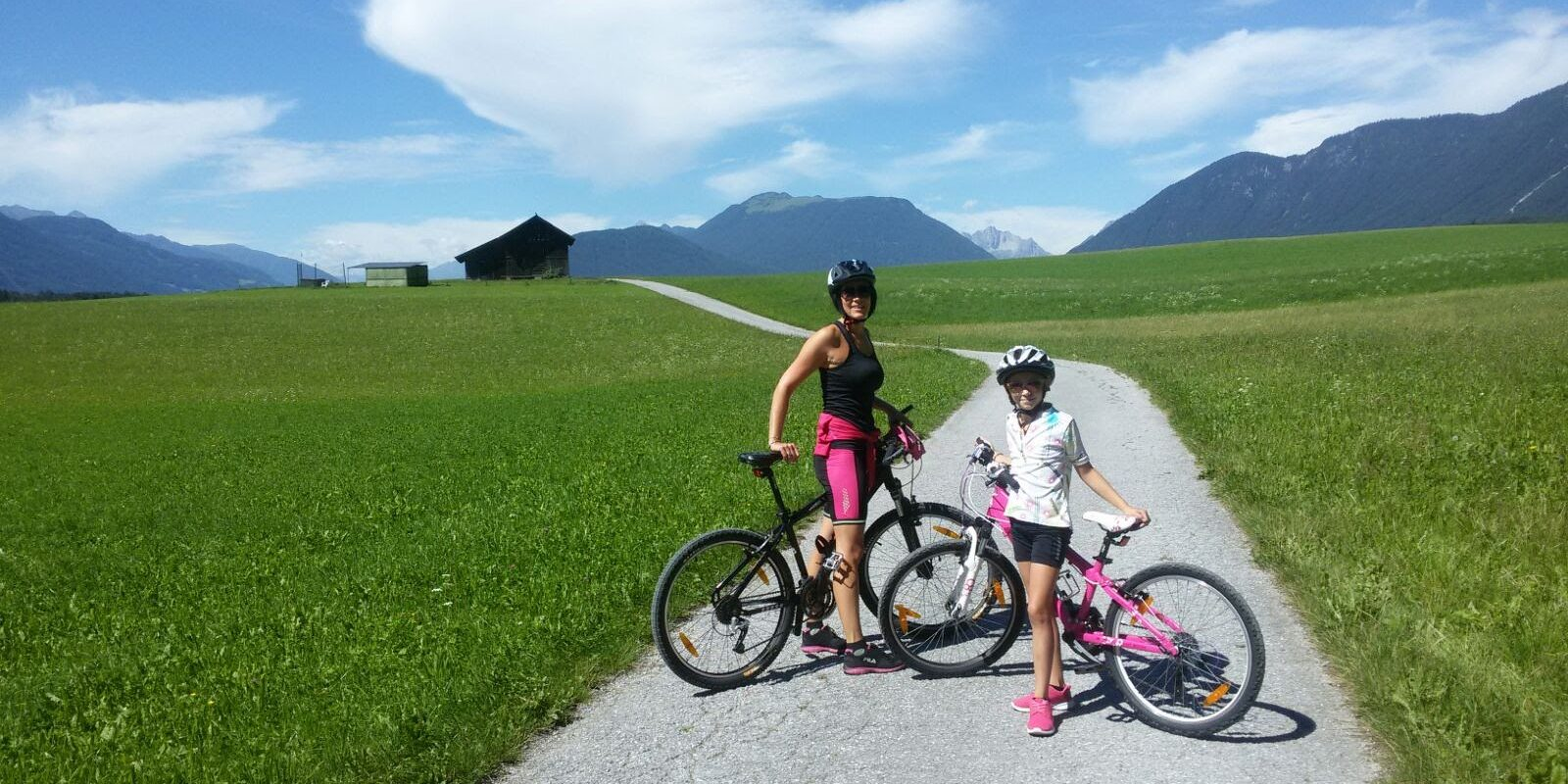 Familienradtour am Sonnenplateau Mieming