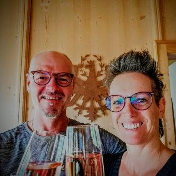 Sonja und Robert Marthe vom Alpenhof in Obsteig