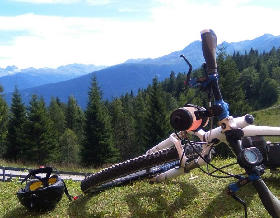 Mountainbiken am Sonnenplateau Mieming