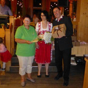 Gästeehrung Alpenhof Obsteig