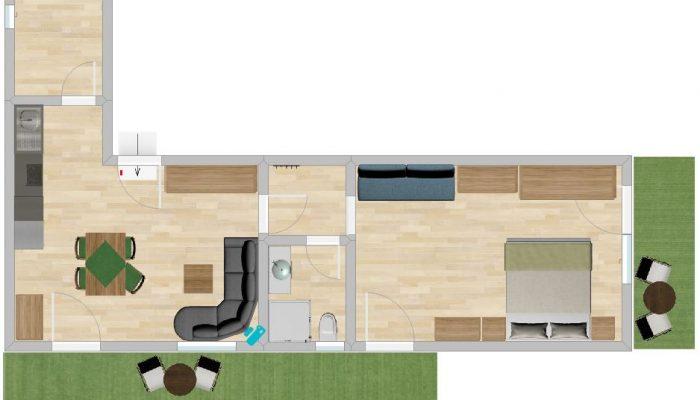 Apartment Skizze