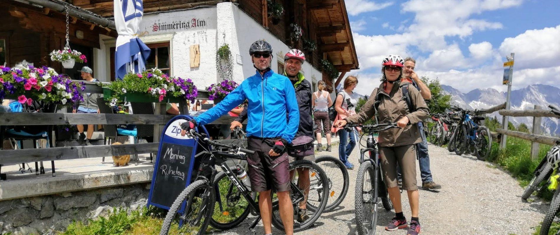 Biketour Simmering