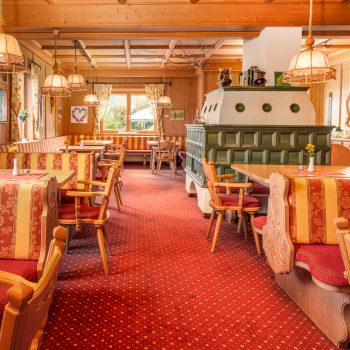 wolfühlpension Alpenhof frühstücksraum