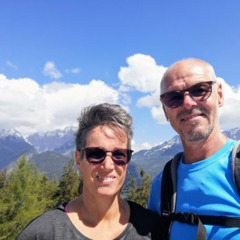 Sonja und Robert von der Wohlfühlpension Alpenhof